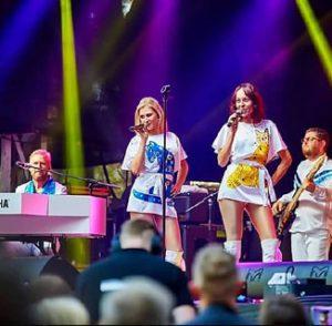ABBA-tributeband