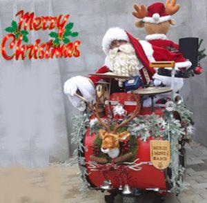 Kerst Mixie mini band