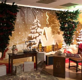 Het Huis van de Kerstman, kersthuis