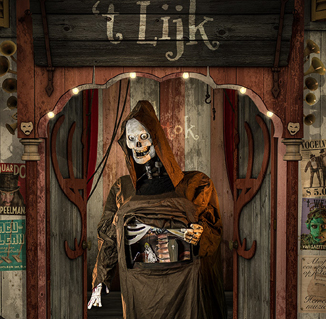 Halloween act Lijk-Aller zielen