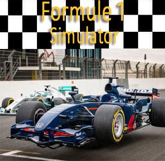 Formule 1 racesimulator van max verstappen replica