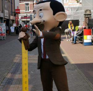Mr Bean als ludieke handhaver