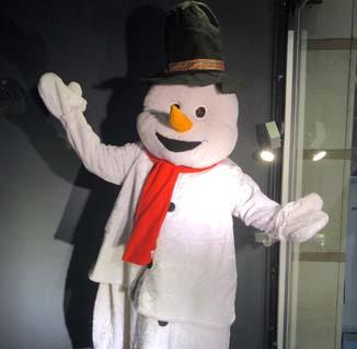 Snowie de sneeuwpop