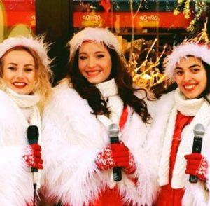 de zingende kerstvrouwen
