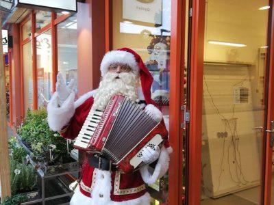 de muzikale kerstman